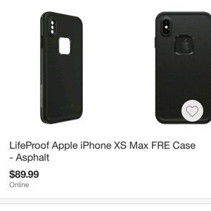 LifeProof Apple XS Max case